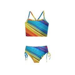 Rainbow Girls  Tankini Swimsuit by NSGLOBALDESIGNS2