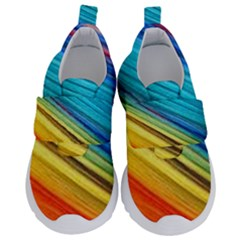 Rainbow Velcro Strap Shoes by NSGLOBALDESIGNS2