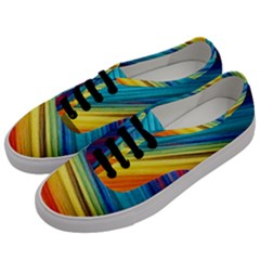 Rainbow Men s Classic Low Top Sneakers by NSGLOBALDESIGNS2
