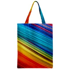 Rainbow Zipper Classic Tote Bag by NSGLOBALDESIGNS2