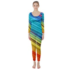 Rainbow Long Sleeve Catsuit by NSGLOBALDESIGNS2