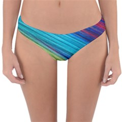 Rainbow Reversible Hipster Bikini Bottoms by NSGLOBALDESIGNS2
