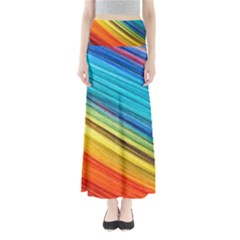 Rainbow Full Length Maxi Skirt by NSGLOBALDESIGNS2