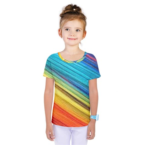 Rainbow Kids  One Piece Tee by NSGLOBALDESIGNS2