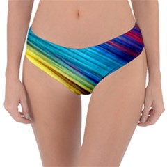 Rainbow Reversible Classic Bikini Bottoms by NSGLOBALDESIGNS2