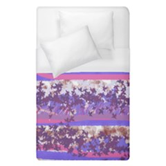 Abstract Pastel Pink Blue Duvet Cover (single Size) by snowwhitegirl