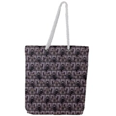 Gothic Church Pattern Full Print Rope Handle Tote (large) by snowwhitegirl