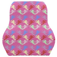 Colorful Cherubs Pink Car Seat Back Cushion
