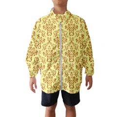 Victorian Paisley Yellow Windbreaker (kids)