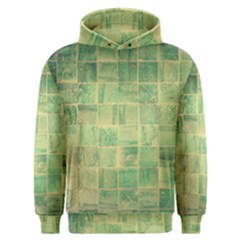 Abstract Green Tile Men s Overhead Hoodie