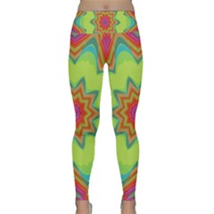 Abstract Art Abstract Background Pattern Lightweight Velour Classic Yoga Leggings