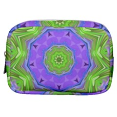 Abstract Art Colorful Make Up Pouch (small)