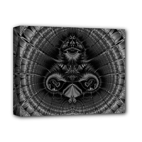 Art Artwork Fractal Digital Art Deluxe Canvas 14  X 11  (stretched) by Simbadda