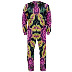 Abstract Art Abstract Background Onepiece Jumpsuit (men)