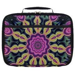 Abstract Art Abstract Background Full Print Lunch Bag