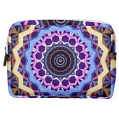 Mandala Art Design Pattern Make Up Pouch (medium) by Simbadda
