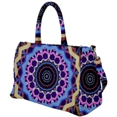 Mandala Art Design Pattern Duffel Travel Bag