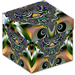 Fractal Art Artwork Design Pattern Storage Stool 12