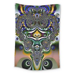 Fractal Art Artwork Design Pattern Large Tapestry