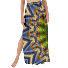 Abstract Antique Art Background Pattern Maxi Chiffon Tie Up Sarong