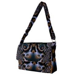 Art Fractal Artwork Design Full Print Messenger Bag