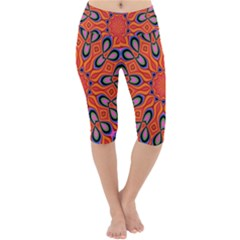 Abstract Art Abstract Background Lightweight Velour Cropped Yoga Leggings