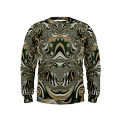 Fractal Art Artwork Design Kids  Sweatshirt