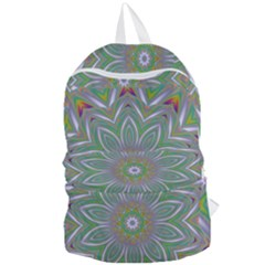 Abstract Art Colorful Texture Foldable Lightweight Backpack