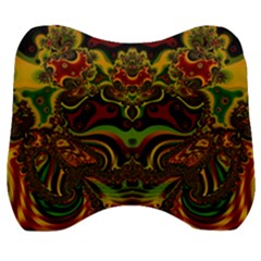 Fractal Art Artwork Design Velour Head Support Cushion by Simbadda