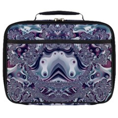 Pattern Fractal Art Artwork Design Full Print Lunch Bag