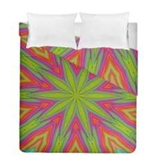 Pattern Art Abstract Art Abstract Background Duvet Cover Double Side (full/ Double Size) by Simbadda
