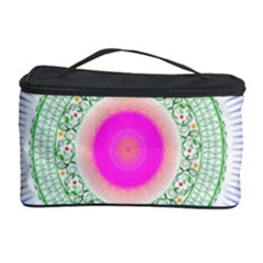 Flower Abstract Floral Cosmetic Storage by Simbadda