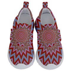 Abstract Art Abstract Background Art Pattern Velcro Strap Shoes by Simbadda