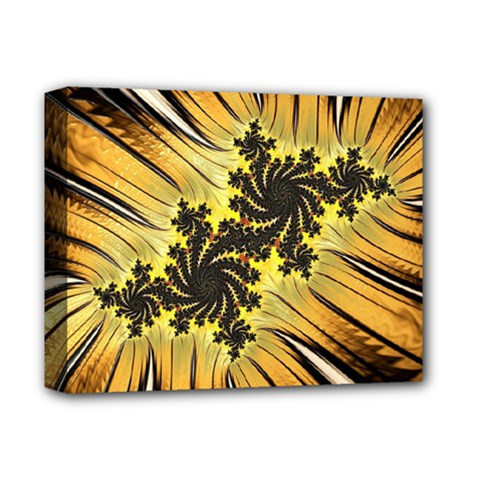 Fractal Art Colorful Pattern Deluxe Canvas 14  X 11  (stretched)