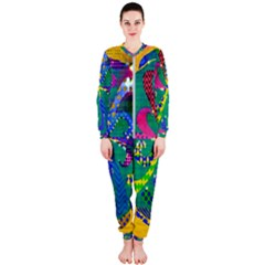 Mandala Abstract Background Image Onepiece Jumpsuit (ladies)