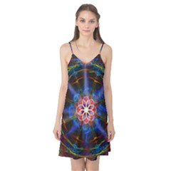 Mandala Pattern Kaleidoscope Camis Nightgown