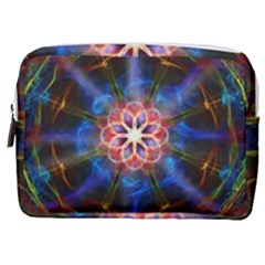 Mandala Pattern Kaleidoscope Make Up Pouch (medium) by Simbadda