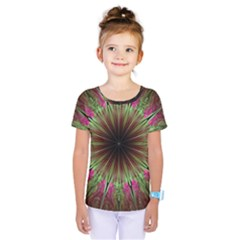 Julian Star Star Fun Green Violet Kids  One Piece Tee by Simbadda