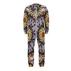 Abstract Art Texture Mandala Onepiece Jumpsuit (kids)