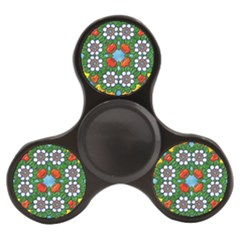 Mandala Background Colorful Pattern Finger Spinner by Simbadda