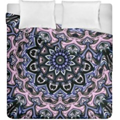 Background Kaleidoscope Abstract Duvet Cover Double Side (king Size) by Simbadda