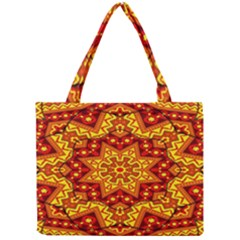 Kaleidoscope Mandala Recreation Mini Tote Bag