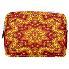 Kaleidoscope Mandala Recreation Make Up Pouch (medium) by Simbadda