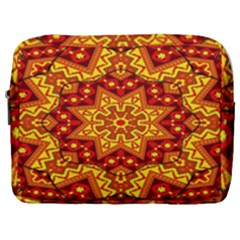 Kaleidoscope Mandala Recreation Make Up Pouch (large) by Simbadda