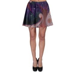 Fractal Art Artwork Design Skater Skirt by Simbadda
