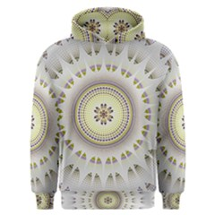 Mandala Fractal Decorative Men s Overhead Hoodie
