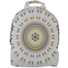Mandala Fractal Decorative Mini Full Print Backpack