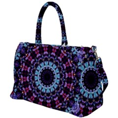 Kaleidoscope Shape Abstract Design Duffel Travel Bag by Simbadda
