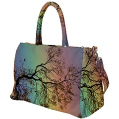 Rainbow Branch Boxer Shorts Duffel Travel Bag by Simbadda