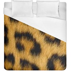 Animal Print Leopard Duvet Cover (king Size) by NSGLOBALDESIGNS2